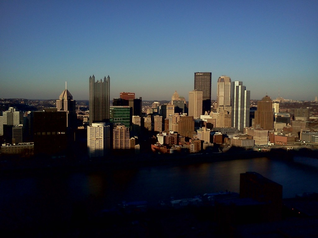 View of Pittsburgh from Mount Washington.